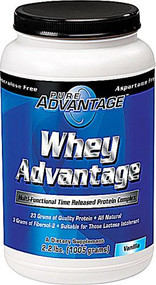 Pure Advantage Whey Advantage Protein Powder Vanilla -- 2.2 lbs