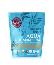 Suncore Foods Aqua Blue Spirulina Super Juice Powder -- 2 oz