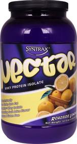 Syntrax Nectar Whey Protein Isolate Powder Roadside Lemonade -- 2 lbs