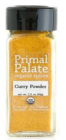 Primal Palate Organic Spices Curry Powder -- 1.5 oz