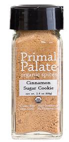 Primal Palate Organic Spices Cinnamon Sugar Cookie -- 2.4 oz