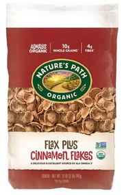 Natures Path Organic FlaxPlus Flakes Cinnamon -- 32 oz
