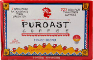 Puroast Low Acid Coffee House Blend -- 12 K-Cups