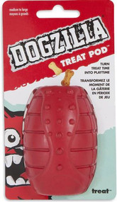Petmate Dogzilla Treat Pod Dog Toy - Medium -- 1 Toy