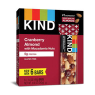 Kind Nut Bar Plus Cranberry Almond and Antioxidants -- 6 Bars