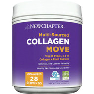 New Chapter Collagen Move Unflavored -- 28 Servings