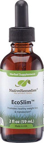 Native Remedies Eco Slim Herbal Supplement -- 2 fl oz