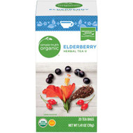 3 PACK of Simple Truth Organic Elderberry Herbal Tea -- 20 Tea Bags