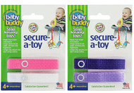 Baby Buddy Secure-A-Toy -- 4 Straps