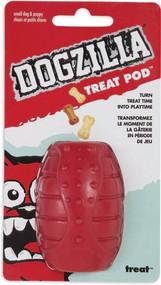 Petmate Dogzilla Treat Pod Dog Toy - Small -- 1 Toy