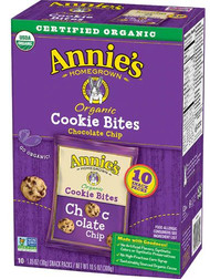 Annies Homegrown Cookie Bites Chocolate Chip -- 10 Packs