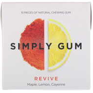 Simply Gum, Revive Gum, 15 Pieces