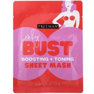 3 PACK of Freeman Beauty, Perky Bust Sheet Mask, Boosting + Toning, 1 Pair, 1 fl oz (30 ml)