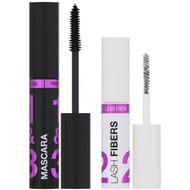 3 PACK of Wet n Wild, Lash-O-Matic Mascara + Fiber Extension Kit, Very Black, 0.37 fl oz (11 ml)