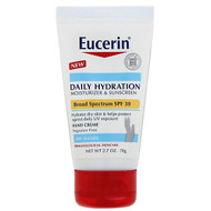 3 PACK of Eucerin, Daily Hydration Hand Creme, Moisturizer & Sunscreen, SPF 30, Fragrance Free , 2.7 oz (78 g)