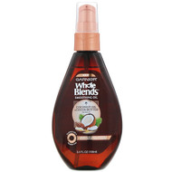 3 PACK of Garnier, Whole Blends, Coconut Oil & Cocoa Butter Smoothing Oil, 3.4 fl oz (100 ml)
