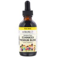 Eclectic Institute, Kids Herbs, Echinacea Premium Blend, Blackberry Flavor, 2 fl oz (60 ml)