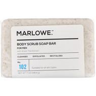 3 PACK of Marlowe, Mens Body Scrub Soap Bar, No. 102, 7 oz (198.4 g)