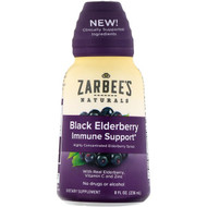 Zarbees, Black Elderberry Immune Support, 8 fl oz (236 ml)