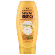 3 PACK of Garnier, Whole Blends, Illuminating Conditioner, Moroccan Argan & Camellia Oils Extracts, 12.5 fl oz (370 ml)
