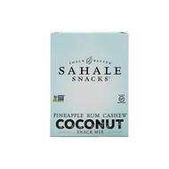 3 PACK of Sahale Snacks, Snack Mix, Pineapple Rum Cashew Coconut, 7 Packs, 1.5 oz (42.5 g) Each