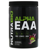 NutraBio Labs, Alpha EAA, Cherry Lime Slush, 1 lb (455 g)