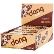 Dang, Keto Bar, Chocolate Sea Salt, 12 Bars, 1.4 oz (40 g) Each