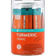 Further Food, Turmeric Tonic, 20 Packets, 0.07 oz oz (2 g) Each