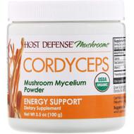 Fungi Perfecti, Cordyceps, Mushroom Mycelium Powder, Energy Support, 3.5 oz (100 g)