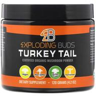 Exploding Buds, Turkey Tail, Certified Organic Mushroom Powder, 4.2 oz (120 g)