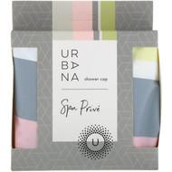 3 PACK of European Soaps, Urbana, Spa Prive, Shower Cap, 1 Shower Cap