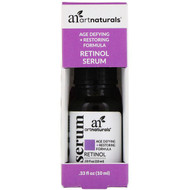3 PACK of Artnaturals, Retinol Serum, .33 fl oz (10 ml)