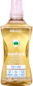 Method Laundry Detergent 66 Loads Free + Clear -- 53.5 fl oz