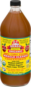 Bragg Apple Cider Vinegar Concentrate Miracle Cleanse -- 32 fl oz