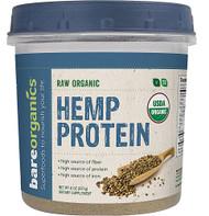 BareOrganics Hemp Protein Powder Raw -- 8 oz