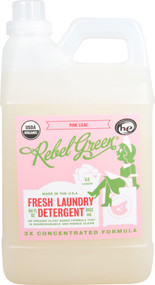 Rebel Green Fresh Laundry Detergent Pink Lilac -- 64 fl oz