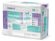 MADE OF Disposable Baby Diapers - Newborn -- 36 Diapers