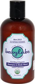 BabyLabs Shampoo & Body Wash Organic Sweet Orange -- 8 fl oz