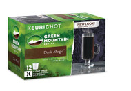 Green Mountain Coffee Keurig Dark Roast Coffee Dark Magic -- 12 K-Cups