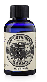 Mountaineer Brand Pre-Shave Oil Tea Tree -- 2 fl oz