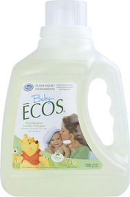 Earth Friendly Baby Ecos Disney Laundry Detergent Free and Clear -- 100 fl oz