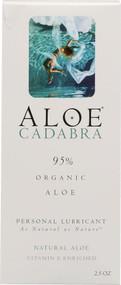 Aloe Cadabra Personal Lubricant Natural Aloe -- 2.5 oz