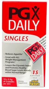 Natural Factors PGX Daily Singles -- 15 Packets
