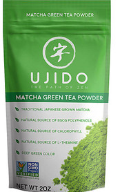 3 PACK of Ujido Matcha Green Tea Powder -- 2 oz