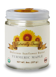 3 PACK of Naturally Sunny Turmeric Maple Sunflower Butter -- 8 oz
