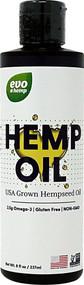 3 PACK of Evo Hemp Hemp Oil -- 8 fl oz