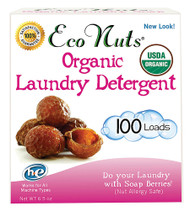 3 PACK of Eco Nuts Organic Laundry Detergent Fragrance Free -- 100 Loads