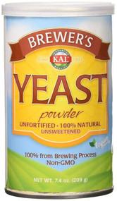 KAL, Brewer's Yeast Powder, Unsweetened, 7.4 oz (209 g)