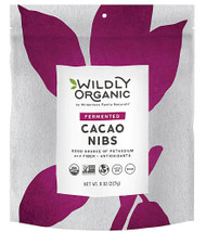3 PACK of Wildly Organic Fermented Cacao Nibs -- 8 oz