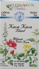3 PACK of Celebration Herbals Herbal Tea Caffeine Free Kava Kava Blend -- 24 Herbal Tea Bags